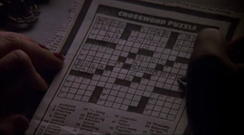 the cotton club_crossword puzzle