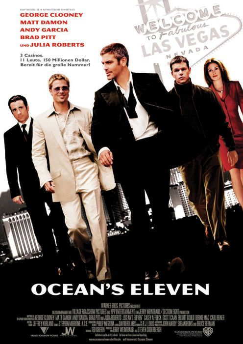 minute a day about movies ocean s eleven. Black Bedroom Furniture Sets. Home Design Ideas
