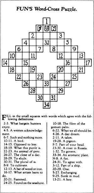 crossword puzzle_arthur wynne